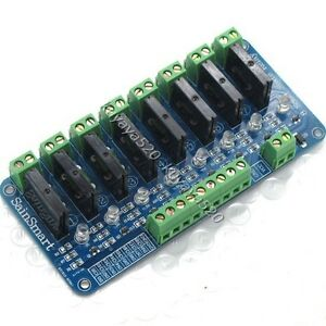 1pcs-250V-2A-8-Channel-OMRON-SSR-G3MB-202P-Solid-State-Relay-Module-For-Arduino