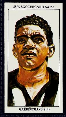 SUN-1979-SOCCERCARDS-#256-BRAZIL-GARRINCHA