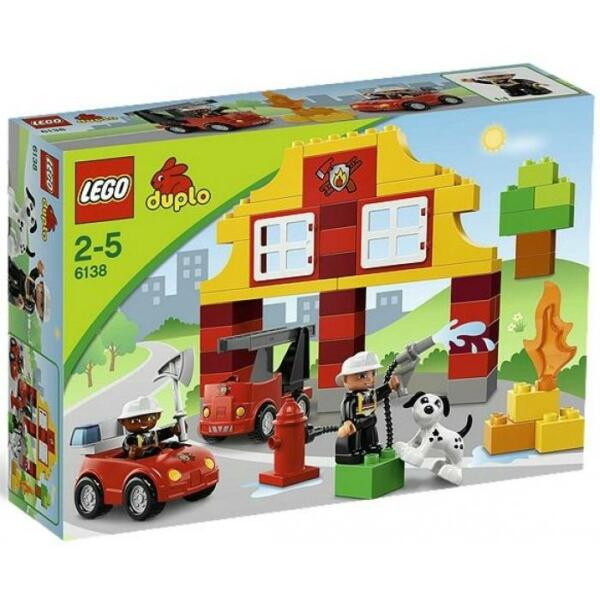 Lego Duplo My First Fire Station 6138 Ebay