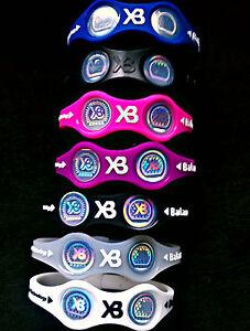 Power-Xtreme-Balance-Wristband-Energy-Bracelet-Size-S-M-L-Free-Ship-USA-Seller