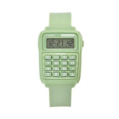 Timex 80 Retro Calculator Watch - Dexter Green. Brand New/Boxed. Rrp£79.99