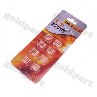 Laptop GPU CPU Heatsink Copper Shim Pccooler RHS-03