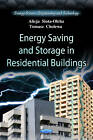 Energy Saving & Storage in Residential Buildings by Alicja Siuta-Olcha, Tomasz Cholewa (Paperback, 2012)