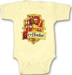 Gryffindor-Harry-Potter-CREST-Baby-Bodysuit-Cute-New-Gift-Choose-Size-amp-Color
