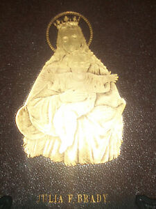 RARE-AND-UNUSUAL-ANTIQUE-034-LIFE-OF-THE-BLESSED-VIRGIN-034-MARY-HOLY-SPIRIT-BOOK
