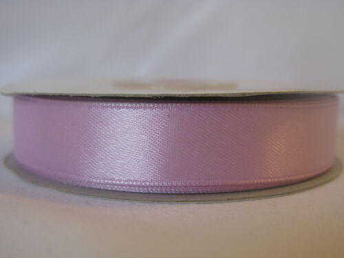 Double sided satin ribbon 50m x 3mm 25m x 10mm 16mm /& 25mm lots of colours