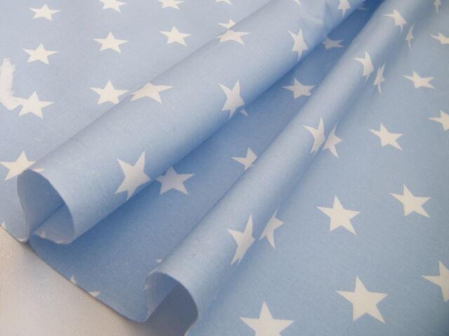 100% Cotton Fabric - Stars - LT GREY BACK IN STOCK