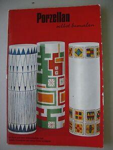 porzellan selbst bemalen um 1960 porzellanmalerei. Black Bedroom Furniture Sets. Home Design Ideas