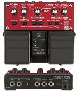 BOSS-RC-20XL-LOOP-STATION-Looper-Pedale-amp-Bloc-d-039-alimentation-3-30-50-300-505