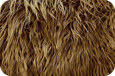 Caramel Mongolian Faux Fur Photo Prop Newborn Nest 18 x 20 Inches Photography