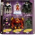 Mattel Dc Super Heroes: Justice League Unlimited Lords Batman Wonder Woman Superman Bizarro Lava Doomsday And Green Amazo Multi Action Figure