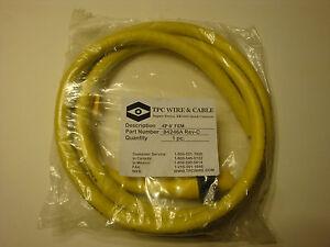 New! TPC Wire & Cable 84246A Super-Trex Rev-C FEM Plug, 4 Pole 6 ...