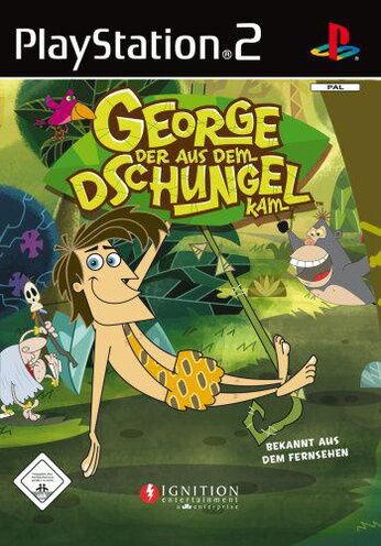 George der aus dem Dschungel kam mit Anleitung (PS2) - DVD wie Neu