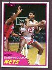 1981 Topps Darwin Cook #77 Basketball Card