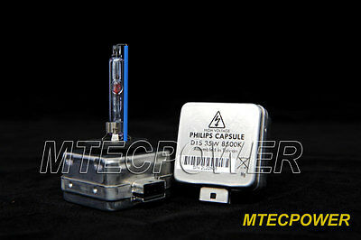Genuine Philips Capsules Xenon HID D1S Bulbs BMW F30 328i 335i 5000K 6000K 85000