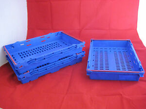 10-New-Blue-Red-Stack-Removal-Storage-Crate-Box-Container-16L-amp-10L