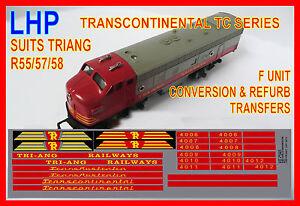 TRIANG-RAILWAYS-HORNBY-R55-R57-R58-F-UNIT-REFURBISHMENT-CONVERSION-DECALS