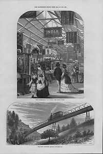 1871 original  illustration titled  international exhibition  the indian court - <span itemprop=availableAtOrFrom>Ringwood, United Kingdom</span> - returns accepted within 7 days ! no return postage fee is refunded Most purchases from business sellers are protected by the Consumer Contract Regulations 2013 which give you the right t - Ringwood, United Kingdom