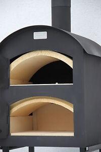 ramster ofen brotbackofen pizzaofen holzbackofen flammkuchenofen ebay. Black Bedroom Furniture Sets. Home Design Ideas