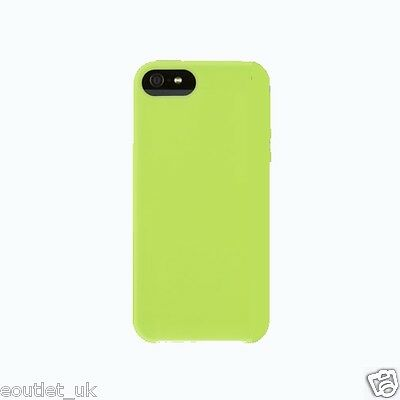 Silicone/Gel/Rubber Case/Cover for iPhone SE/5s/5 Green - Griffin Immerse NEW