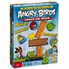 Mattel Authentic Angry Birds Knock On Wood Family Board Game