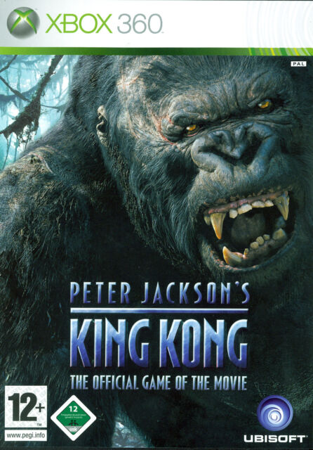 Peter Jackson's King Kong - The Official Game of the Movie (Microsoft Xbox 360,