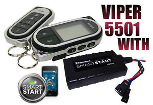 VIPER-5501-WITH-SMART-START-MODULE-CAR-REMOTE-START-KEYLESS-ENTRY-2-WAY-SYSTEM