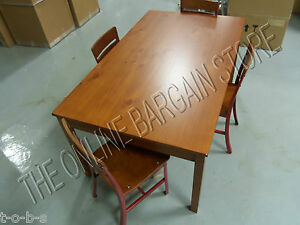 Pottery barn kids activity toy cameron craft play table desk 4 schoolhouse chair ebay - Pottery barn schoolhouse chairs ...