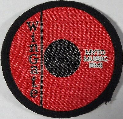 VINTAGE MYTO MUSIC BMI Old 70`s/80`s Woven Sew On Patch