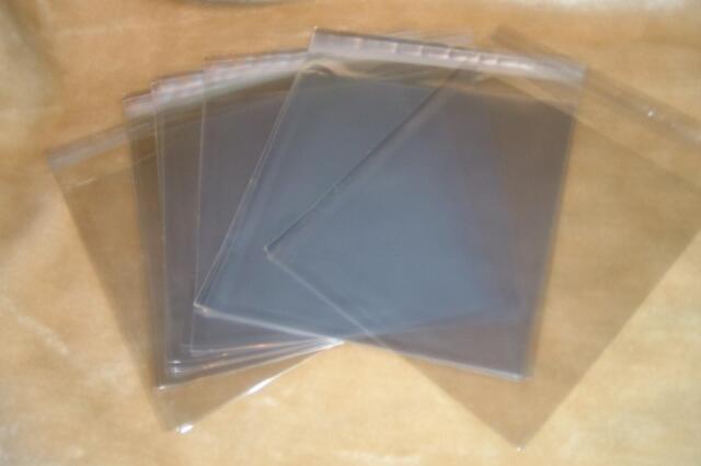 * 100 quadratische Schutzhüllen 3D Kartenhüllen Klarsichthüllen 16 cm 160 mm HC