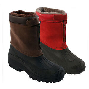 MENS-LADIES-SNOW-BOOTS-WATERPROOF-THERMAL-WELLINGTONS-WINTER-FUR-SKI-WELLIES-DD2