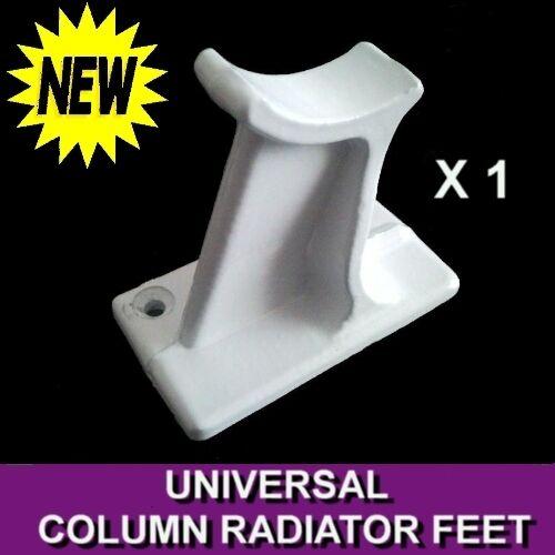 Support de colonne universel radiateur pieds Blanc Ral9016 Fonte Traditionnel 2 3 4