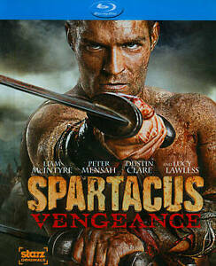 Spartacus-Vengeance-The-Complete-Second-Season-Blu-ray-New-DVD-Ships-Fast