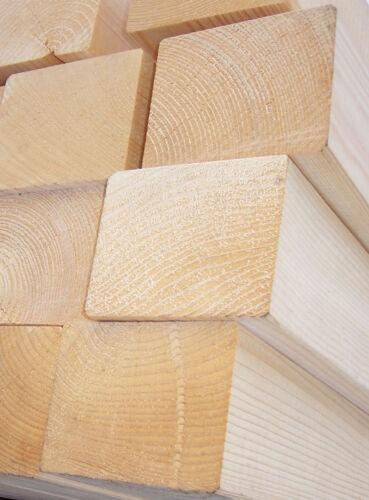4 x 6 cm Fichte / Tanne gehobelte Balken/Kantholz KVH für den Holzbau/Carports