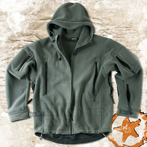 HELIKON-PATRIOT-MENS-MILITARY-TACTICAL-HOODED-FLEECE-JACKET-FOLIAGE-ALL-SIZES