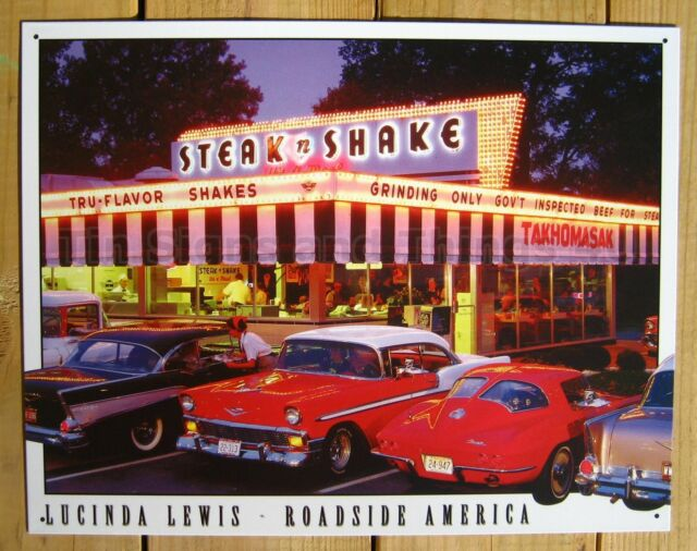 Classic Cars 1950s metal wall decor tin sign posters collection on eBay!