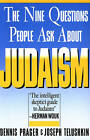 The Nine Questions People Ask About Judaism by Rabbi Joseph Telushkin, Dennis Prager (Paperback, 1991)