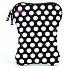 Built NY 9-10-Inches Laptop Sleeve, Big Dot Black and White (E-LS10-BBW)