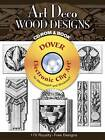 Art Deco Wood Designs by Laurence Malcles (Mixed media product, 2007)