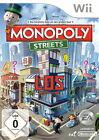 Monopoly Streets (Nintendo Wii, 2010, DVD-Box)