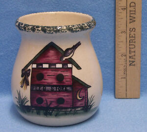Home Garden Party Berry Candle Stoneware Usa May 2000