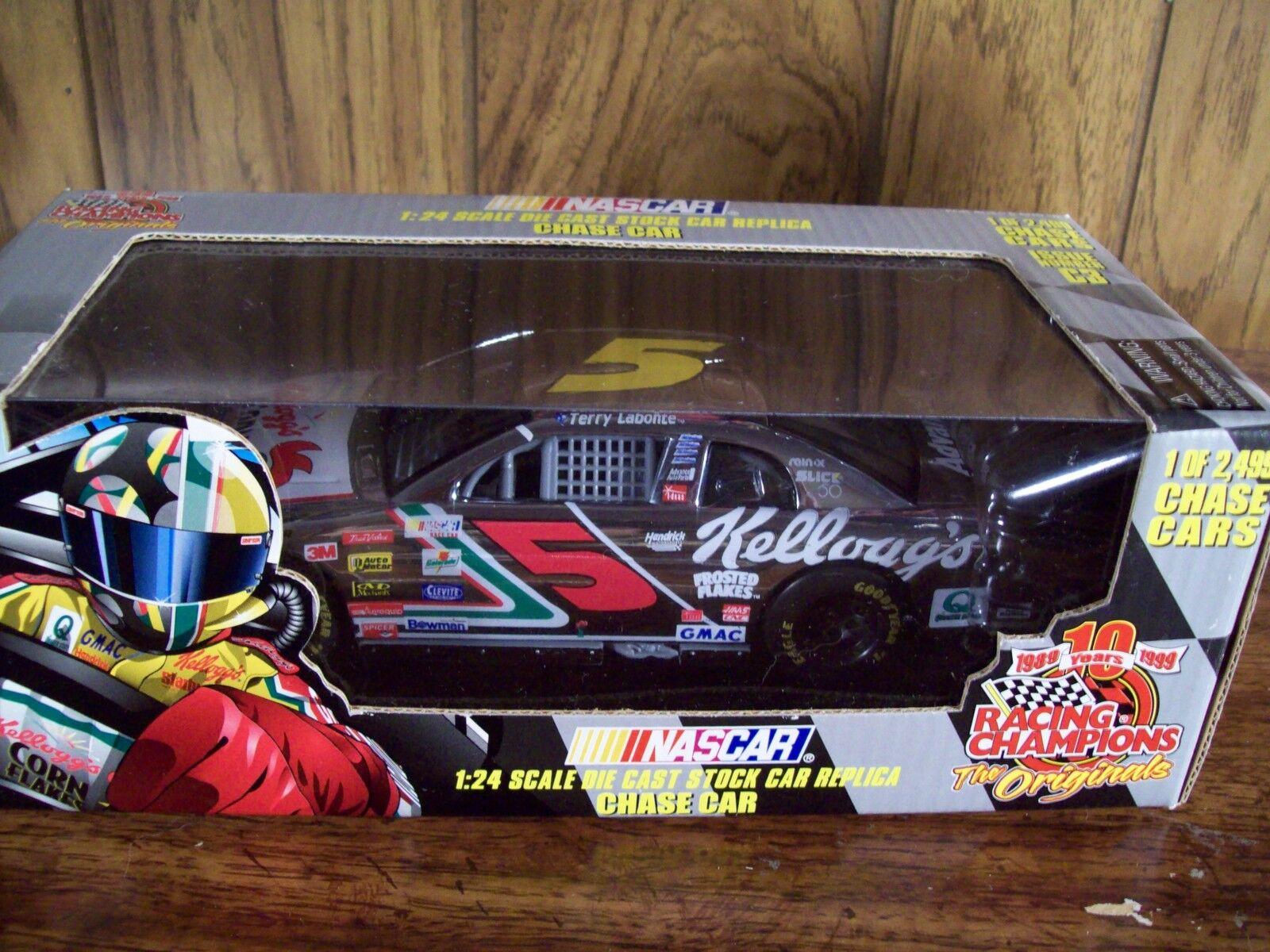 TERRY LABONTE KELLOGG'S CHASE 1 24 SCALE NASCAR CAR 1 of 2499  ISSUE C3