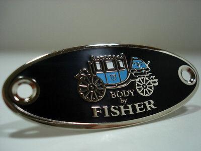 Chevrolet Chevy FISHER Body Tag 1933,1934,1935,1936,1937,1938,1939