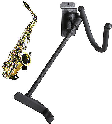 STRING SWING HH17 Alto / Tenor Saxophone Holder - FLAT WALL MOUNTING