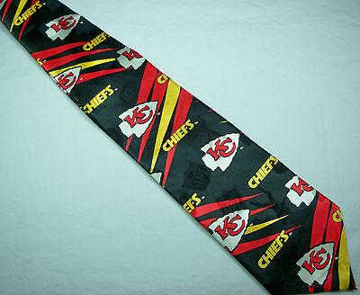 Kansas City Chiefs Silk Tie AFC NFL Football KC Arrowhead