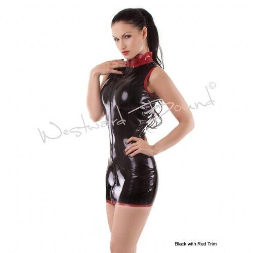 LATEX RUBBER DRESS GUMMI PIN UP BURLESQUE FETISH STYLED DIVA DRESS R071
