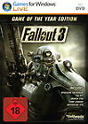 Fallout 3 (dt.) - Game Of The Year Edition (PC, 2009, DVD-Box)