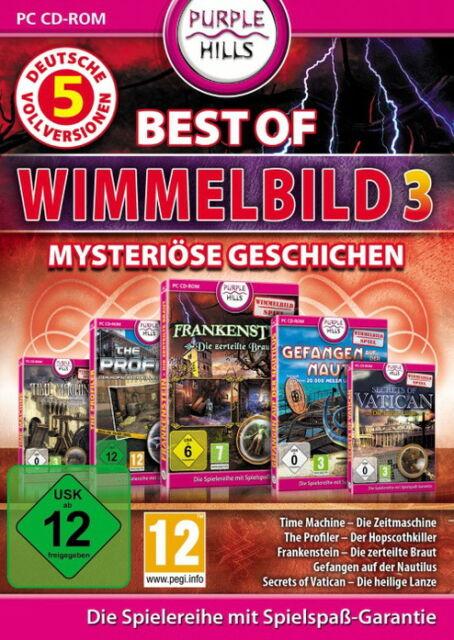Best Of Wimmelbild Vol. 3 (PC, 2011, DVD-Box)