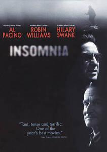 Insomnia (DVD, 2002, WS) LIKE NEW 1