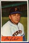 1954 Bowman Max Surkont Pittsburgh Pirates #75 Baseball Card